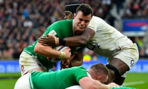James Ryan and Maro Itoje could feature together for the British & Irish Lions next year but face off at Twickenham on Saturday.