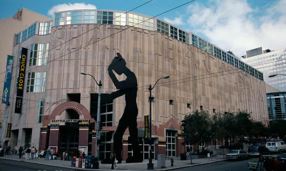 The Seattle Art Museum, designed by Robert Venturi.