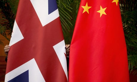US message to Britain in bilateral trade talks: it's us – or China