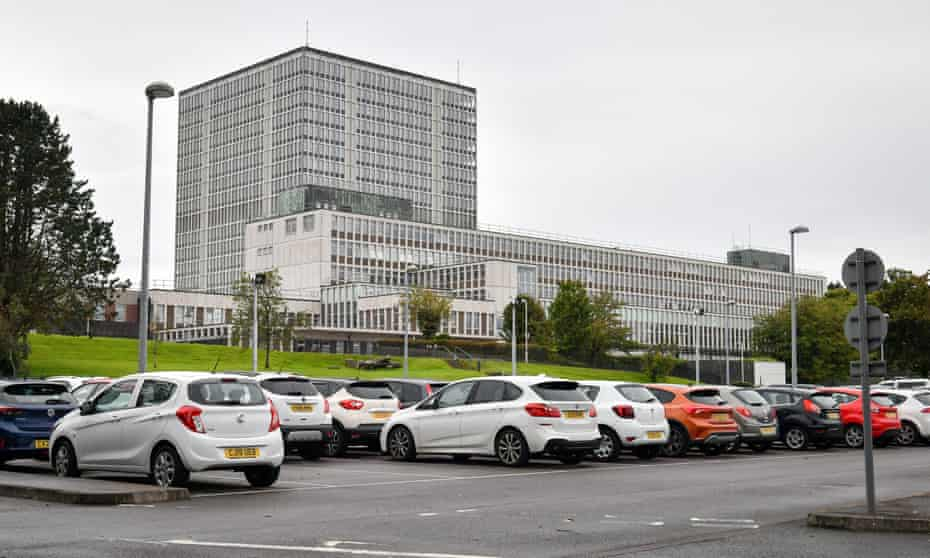 The Driver and Vehicle Licensing Agency (DVLA) in Swansea.