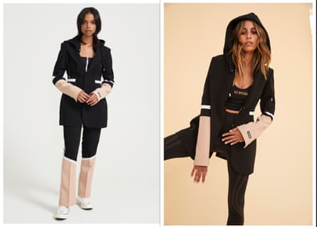 PE Nation's 'Elevation Blazer' and matching tracksuit pants