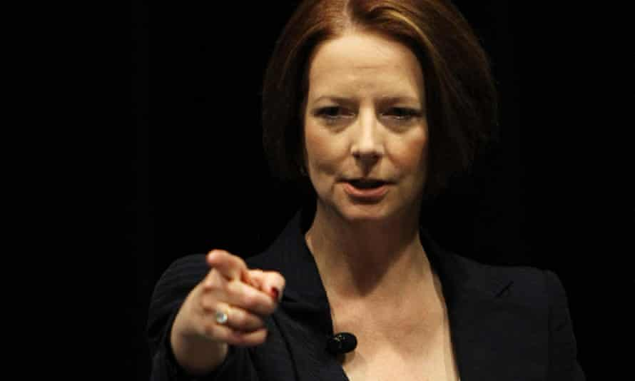 Julia Gillard as prime minister in 2012. She insists she has not watched the ABC's The Killing Season documentary series but took part because she believes it would have been made with or without her participation.