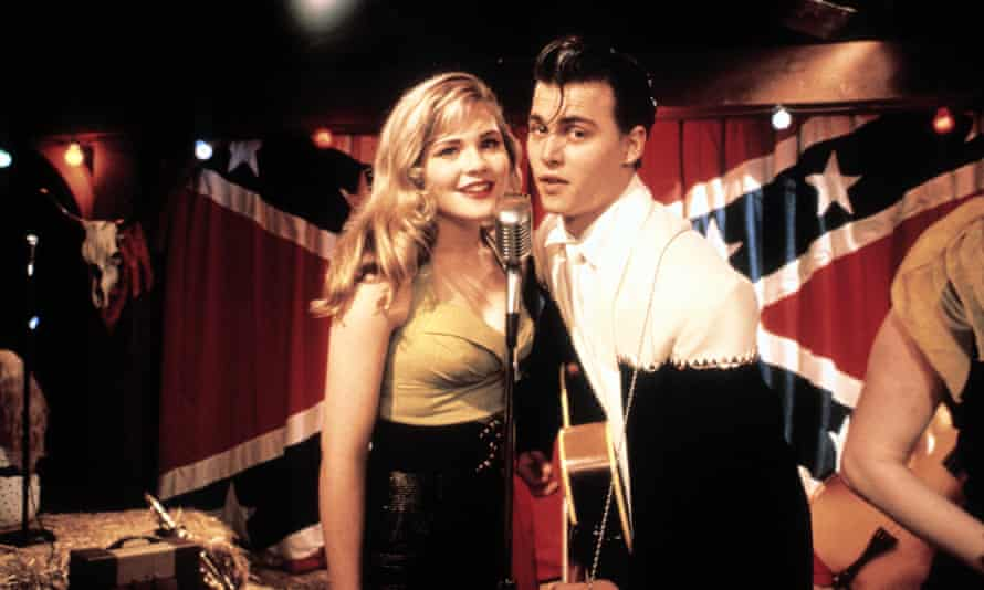 Locane with Johnny Depp in Cry-Baby.