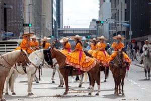 Las Rebeldes de Houston, an escaramuza group