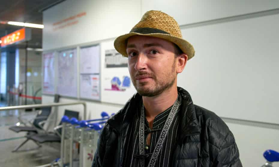Robert Bociaga, a Polish photojournalist who was detained on 11 March