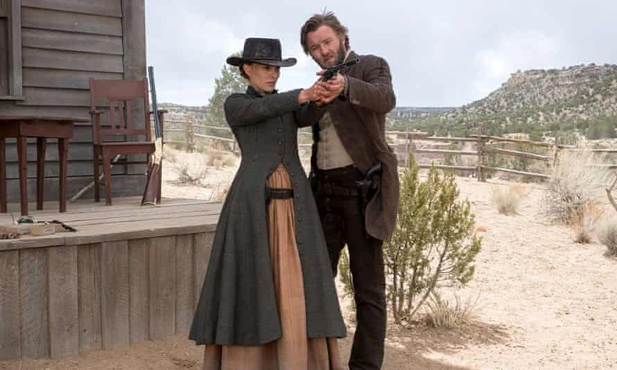 Natalie Portman and Joel Edgerton in Jane Got a Gun.