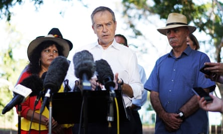 Bill Shorten branded the Coalition's campaign against Labor's climate policies 'malicious and stupid' as he visited Darwin on 2019 federal election trail