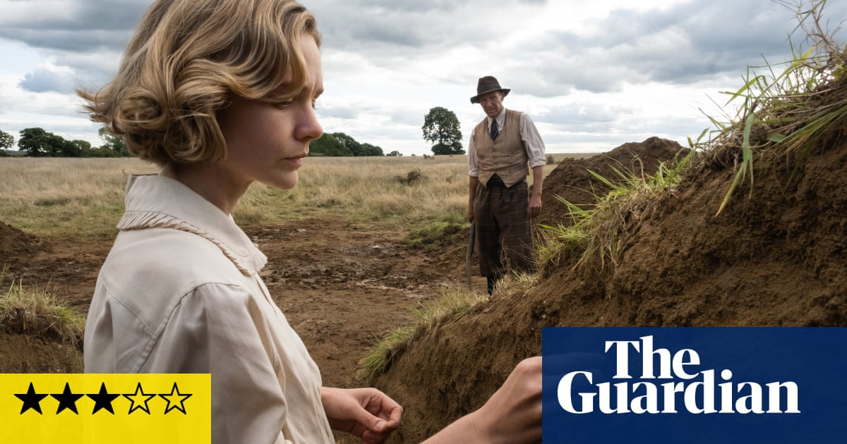 The Dig review – Sutton Hoo excavation romance is none too deep