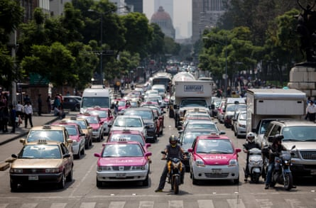 Mexico City is pushing to reduce air pollution.