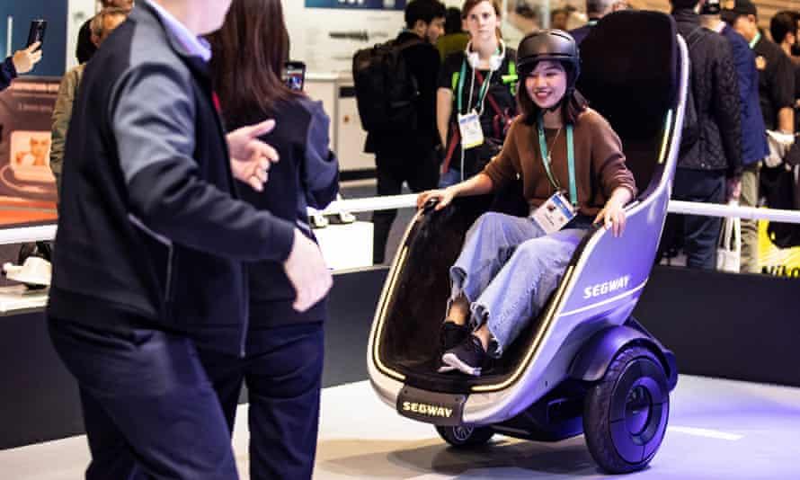 The S-Pod is like a self-balancing throne on wheels.