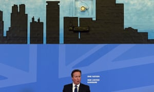 David Cameron delivers a speech in Birmingham, where he said that new government legislation will include powers to put nonviolent extremists who radicalise young people 'out of action'.