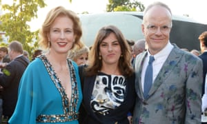 Left to right: Julia Peyton-Jones, the artist Tracey Emin and Hans-Ulrich Obrist at the Serpentine gallery.