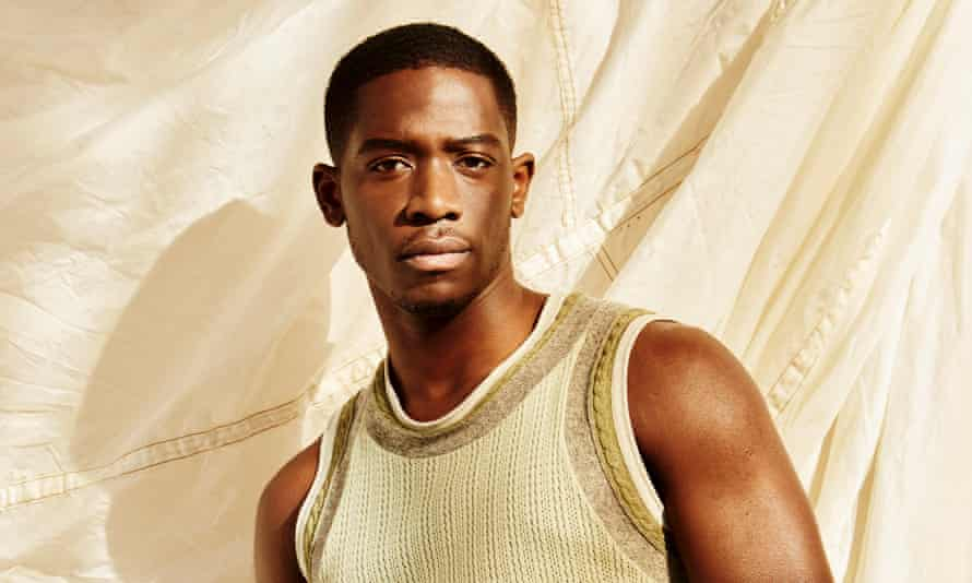 'Jay-Z reached out and it was all jokes': Idris wears sweater vest by Emporio Armani (armani.com).