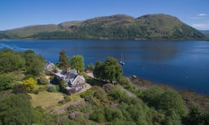 Airds Bay, Taynuilt, Argyll Many of the five receptions and seven bedrooms overlook the loch, and there is a private jetty and mooring at the bottom of the large gardens. Two of the bedrooms have been hived off into a flat. The decor could do with an update, and some of the bedrooms open off each other.Price: £440,000. Strutt & Parker, 0131 718 4595
