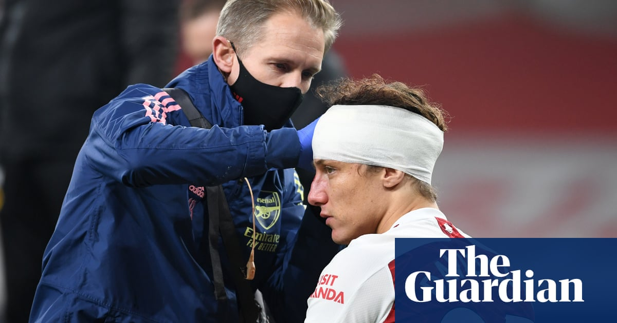 Manchester Citys Ederson calls for concussion substitutes after David Luiz incident