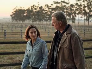 Teresa Palmer and Sam Neill in Ride Like A Girl.