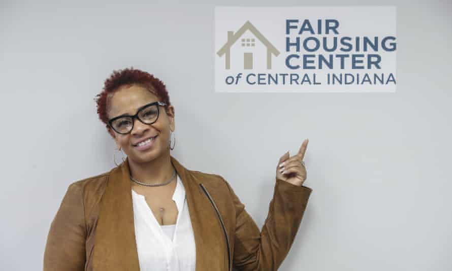 Carlette Duffy and the Fair Housing Center of Central Indiana filed a housing discrimination complaint to the federal government.