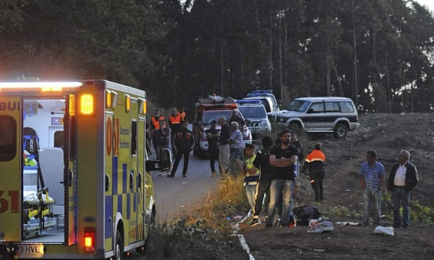 6 killed after rally car careens into crowd in Northern Spain…