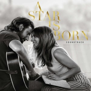 Cover art for the A Star is Born soundtrack.