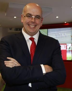 Jim Mullen, Ladbrokes CEO.