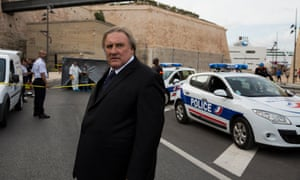 'We know that political personalities do drugs' … Gérard Depardieu as coke-snorting mayor Robert Taro in Marseille.