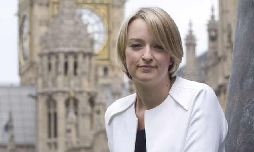 BBC News had more female reporting appearances mainly thanks to political editor Laura Kuenssberg, pictured, and Europe editor Katya Adler.