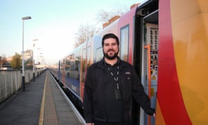 Train driver Ed Mayne is the Labour PPC for Epsom and Ewell