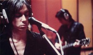 Iggy Pop at Olympic Studios, London, 1972.