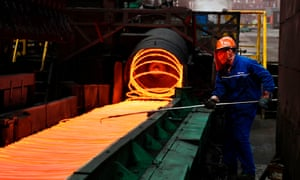 The US had already announced its intention to impose at 25% tariff on steel imports.