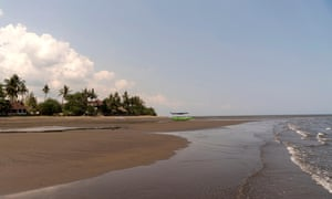 Sandy Lovina Beach, Lovina, Bali, Indonesia.
