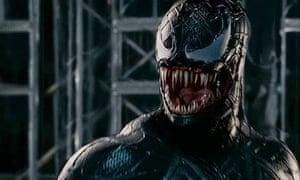Venom in Raimi's Spider-Man 3.