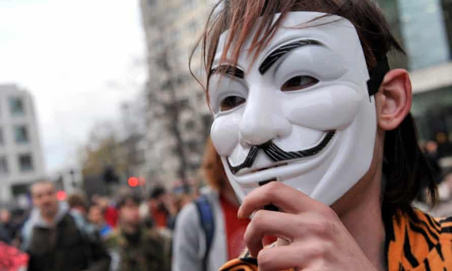 Occupy London protester