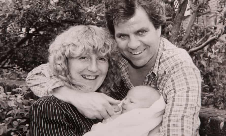 Stuart and Jennifer Collier with their son