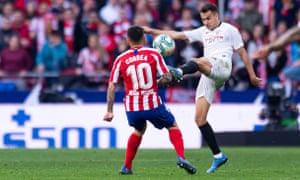 Sergio Reguilón had a brilliant season in La Liga on loan from Real Madrid to Sevilla.