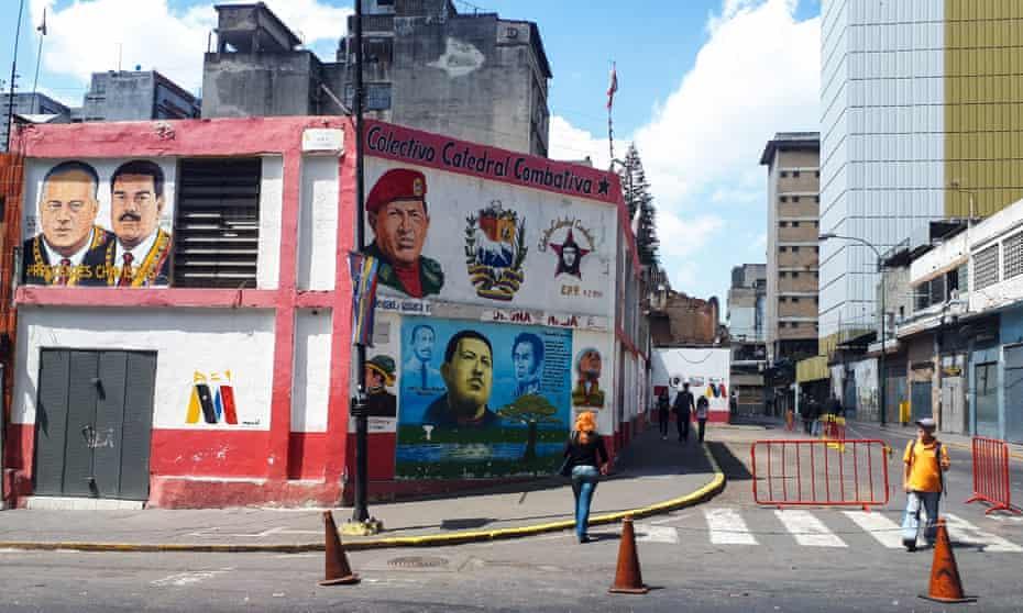 A mural in Caracas