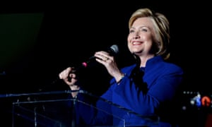 Hillary Clinton speaks at The Greek Theatre in Los Angeles, California on June 6, 2016.