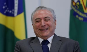 Michel Temer, who replaced Dilma Rousseff as Brazil's president, has proven deeply unpopular – and his personal ratings are now in single digits.