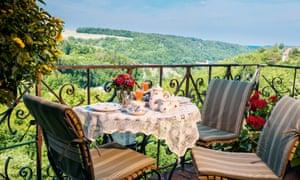 Burg Hotel, Rothenburg, Germany