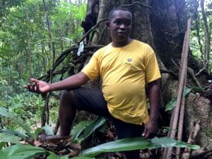 Forest defender Clovis Razafimalala