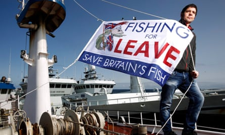 Fishermen in the north east of Scotland launch their campaign for the UK to leave the European Union