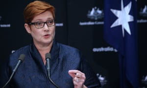 Australian Foreign Minister Marise Payne has accused China of spreading disinformation and contributing to a climate of fear and division in the world