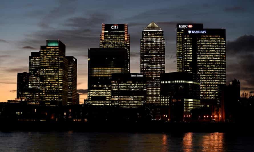 The agencies are based in Canary Wharf, east London.