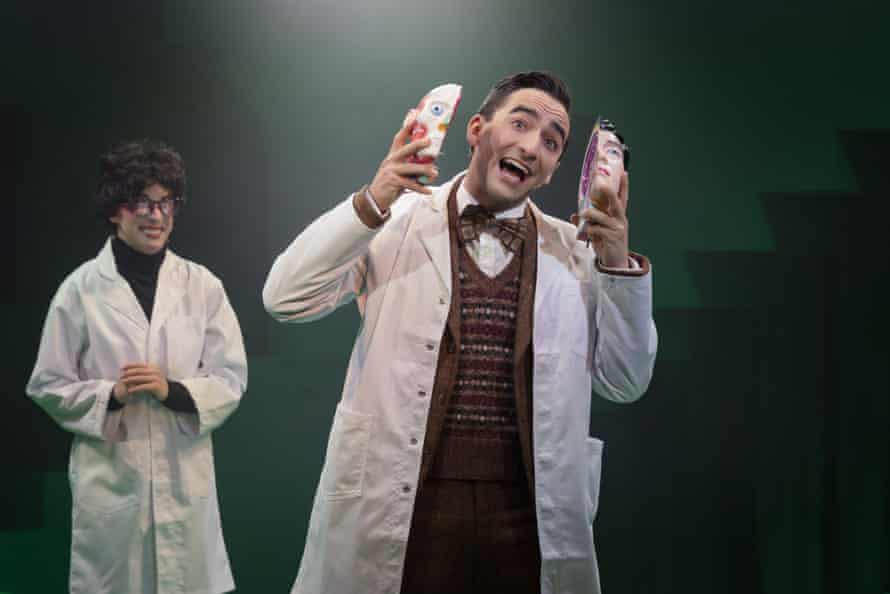 Matthew Backer in Young Frankenstein