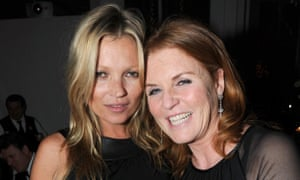 The holiday duo for 2016: Kate Moss and Sarah Ferguson