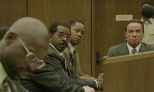 The People v OJ Simpson: American Crime Story.