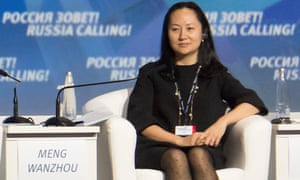 Meng Wanzhou at a VTB Capital Investment forum in Moscow in 2014.