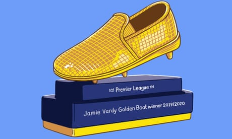Jamie Vardy's shot at golden boot is one of season's great unfinished subplots | Barney Ronay