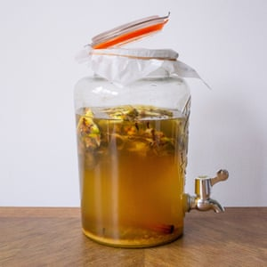 Pineapple tepache: a refreshing kombucha-style drink from stuff you'd normally chuck.