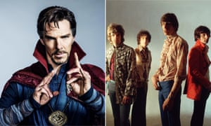 Benedict Cumberbatch in Doctor Strange and Pink Floyd.