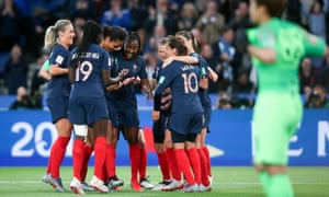 The US are set to play a dangerous France team in the quarter-finals